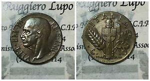Regno d'Italia Vittorio Emanuele III 10 CENTESIMI 1940 IMPERO II° tipo BA SPL