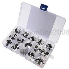 70Pcs 14 Valeur L7805-LM317 Silicium Transistors Amplifier Assortiment Kit Boîte