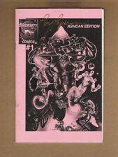 ALPHA KORPS #1 VF+ ASHCAN EDITION 1996 ~Signed Tony Lopez~ Brent Evans art n2572