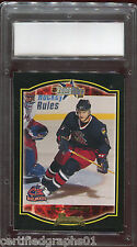 (1) Empty Graded Card Slab Holder Label Grading