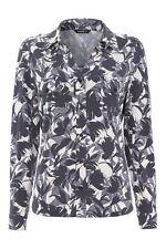 Viscose V Neck Singlepack Floral Tops & Shirts for Women