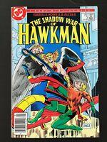 SHADOW WAR OF HAWKMAN #3 DC COMICS 1985 VF+ NEWSSTAND EDITION