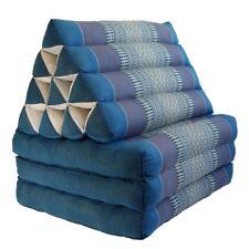 Thai Triangle Cushion Mattress Pillow kapok100% 3 Fold (TR02)Aqua