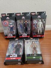 Marvel Legends Baf Capt America Flight Gear Zemo, Vision, Agent, Loki 5 Lot!!