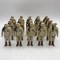 Vtg Star Wars Hoth Rebel Commander Army Builder Lot of 20 Action Figures