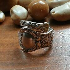 SPOON RING , STERLING 925 SILVER RING ,  ANTIQUE SILVER RING , *Perfect Gift*