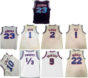 Tune Squad Jersey (Choose Your Character) Space Jam Basketball Adult Brand