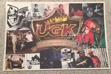 UGK Underground Kingz 2009 Promo Poster Autographed Lithograph Bun B