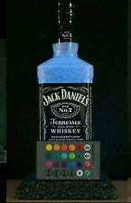 Jack Daniels Remote Control LED Bottle Lamp 16 Color Change Christmas Gift Idea