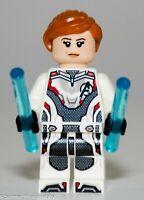 LEGO Avengers Endgame Black Widow Minifigure 76126 Mini Fig