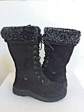UGG ADIRONDACK III TALL LEOPARD BLACK Boot US 12 / EU 43 / UK 10.5 - NIB