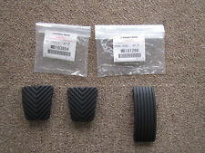MITSUBISHI LANCER EVO5 EVO6 CP9A COVER PEDAL RUBBER SET OF X3 MB181266 MB193884