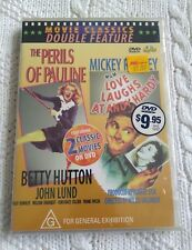 THE PEARLS OF PAULINE/ LOVE LAUGHS AT ANDY HARDY- DVD, R-ALL, BRAND NEW