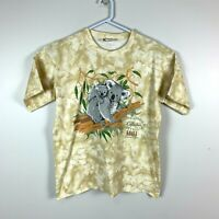 Australian Grown Rare Koala Graphic Print Tee Vintage Shirt Size Men's Small