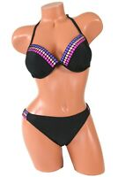 California Waves Push-Up Bikini Set Size Medium NWT