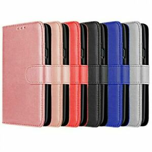 Flip Leather Book Case Magnetic Wallet Cover for Samsung Galaxy S21 S20 FE Ultra