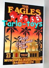 Eagles - Nashville, Usa - 23 june 1977 - concert poster