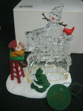 """Dept. 56 Heritage Collection North Pole """"A Busy Elf� #56366 North Pole Sign New"""