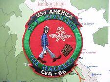 PATCH -  CVA-66 USS AMERICA S-1 DIVISION  HE HACKERS  , CVA66