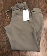 NWT Lululemon Size 4 On The Fly Jogger Pant *Woven GRSG Green $118