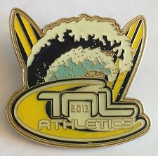 The Next Level TNL 2013 Athletics Surfing  Pin Badge Rare Authentic Sports (E4)