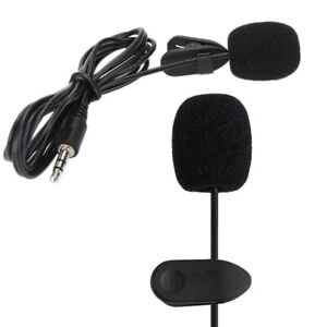 Ansteckmikrofon Lavalier Mikrofon Mini Clip-On Microphone Omnidirectional NEW