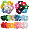 Wholesale Velvet Hair Scrunchies Set Pack Elastic Hair Bobbles Bands Solid Rope