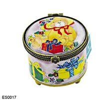 Kelvin Chen Enamel Copper Hand paint Stamp Dispenser Holder - Teddy Bear present