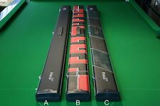 Peradon Halo 1pc PLUS 3 Section Snooker/Pool Cue Case! Chesworth Cues, Sheffield