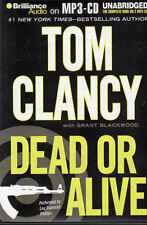 Audio book - Dead or Alive by Tom Clancy with Grant Blackwood  -  MP3-CD