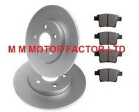 JAGUAR X-TYPE 2.0 2.1 2.2 TDCi 2.5 3.0 ESTATE REAR 2 BRAKE DISCS AND PADS SET