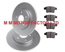 FITS JAGUAR X-TYPE 2.0 2.1 2.2 TDCi 2.5 3.0 ESTATE REAR BRAKE DISCS & PADS SET