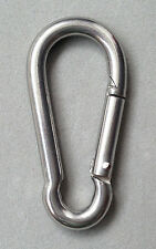 6mm Stainless steel M6 Quick Link Carabiner Spring Snap Hook Clip