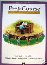 SALE - Alfred Basic Piano Prep Course Solo Book Level D
