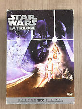 Coffret DVD Star Wars La Trilogie Film 4 5 6 IV V VI carrie fisher harrison ford