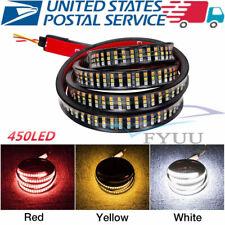 "60"" Triple Row 450LED Tailgate Light Flowing Turn Signal Brake/DRL/Reverse Lamp"