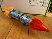 KY Yoshuno Toys Japan Apollo 11 Space Frontier Rocket - Battery Operated