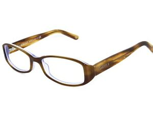 Versace Women's Eyeglasses MOD. 3144 884 Brown on Lilac Frame Italy 53[]16 135