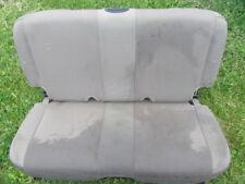 2005-06 Jeep Wrangler TJ Flip Fold Rear Seat khaki cloth
