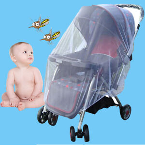 Baby Children New Pram Trolley Mosquito Net Baby Carriage Flies Protctor Cover