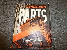 Timberjack 200 205 215 225 230 Skidder Forwarder Parts Catalog Manual 804A