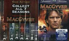 MacGyver Complete Series Gift Set Seasons 1-7 1 2 3 4 5 6 7 Dvd New 097361181448