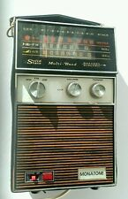 Vintage radio retro 1960/70s electric/battery Monatone Solid State Rare