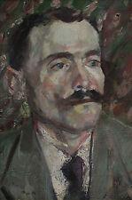 Portrait de un hombre lenin en su Munich/tiempo suizo