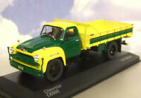 EXCELLENT WHITEBOX DIECAST 1/43 1958 CHEVROLET C6500 TRUCK GREEN & YELLOW WB279T