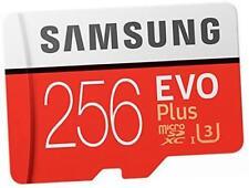 SAMSUNG 256 GB 95MB/s di memoria EVO PLUS SCHEDA MICRO SD CON ADATTATORE