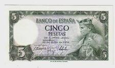 Spagna Spain 5  pesetas   1954   FDS  UNC  Pick 146  lotto 98