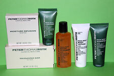 PETER THOMAS ROTH skin care BODY LOTION SHAMPOO CONDITIONER & SOAP travel LOT