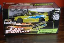 Very Rare ! The Fast and the Furious  1995 Mitsubishi Eclipse 1/18 Body Shop