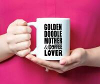 Goldendoodle Dog Mom Coffee Gift Golden Doodle Coffee Lover Mug Gift
